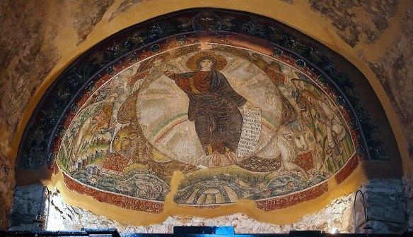Mosaic of Theophany - Church of Hosios David in Ano Poli
