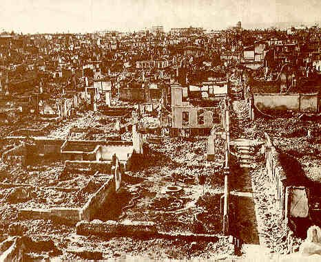Burned out - Smyrna after the Great Fire