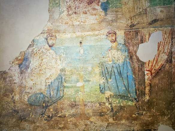 Faded glory - Mosaic from the Museum of Byzantine Civilization