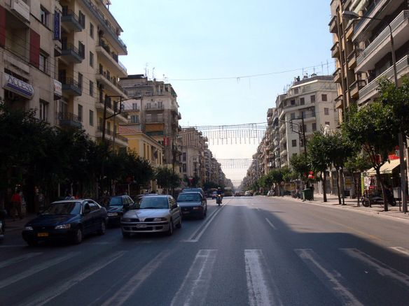 Modernizing a Roman road - Egnatia street in Thessaloniki