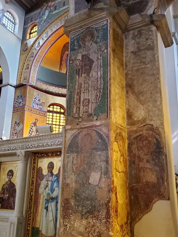 The spirit still lives - Frescoes at the Church of St. Demetrios