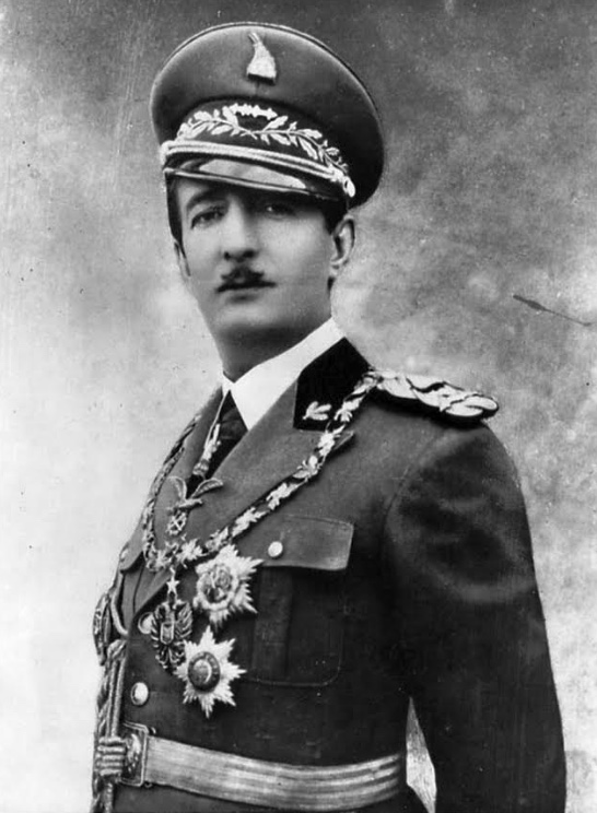 A chestful of medals rather than bullets - King Zog