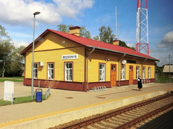The Power of Place - Bezdonys Train Station