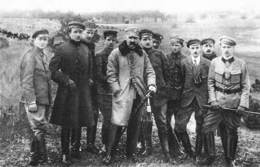 Freedom Fighters - Jozef Pilsudski with his colleagues