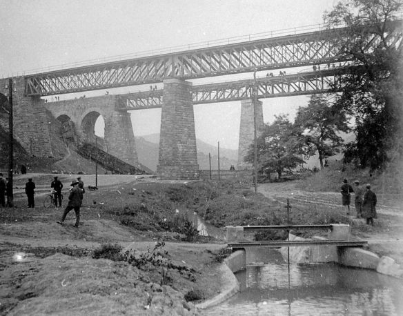 The Biatorbagy Viaduct in 1931