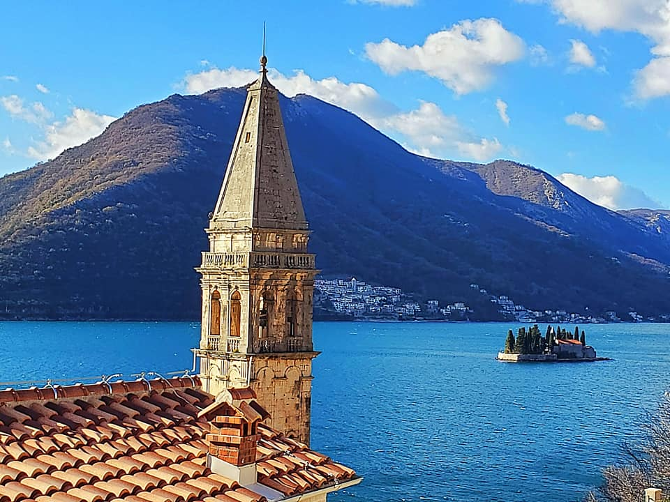 Dream in Blue - View from Perast