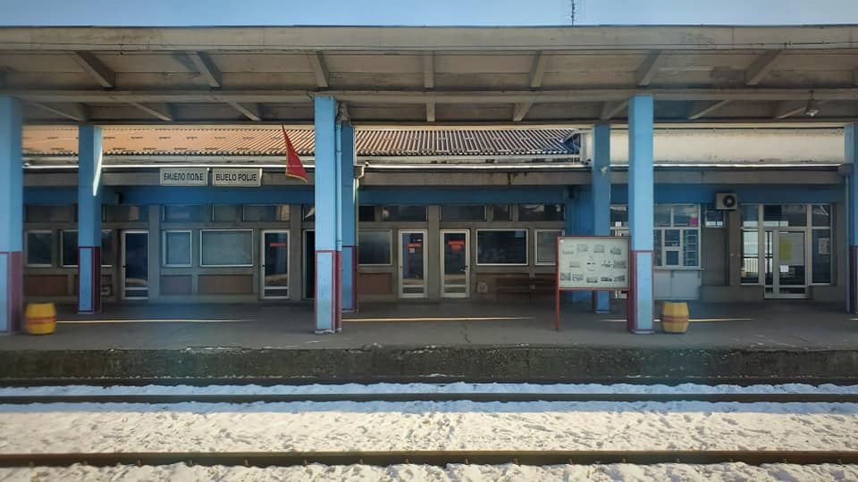 Leaving Montenegro - The Station at Bijelo Pole