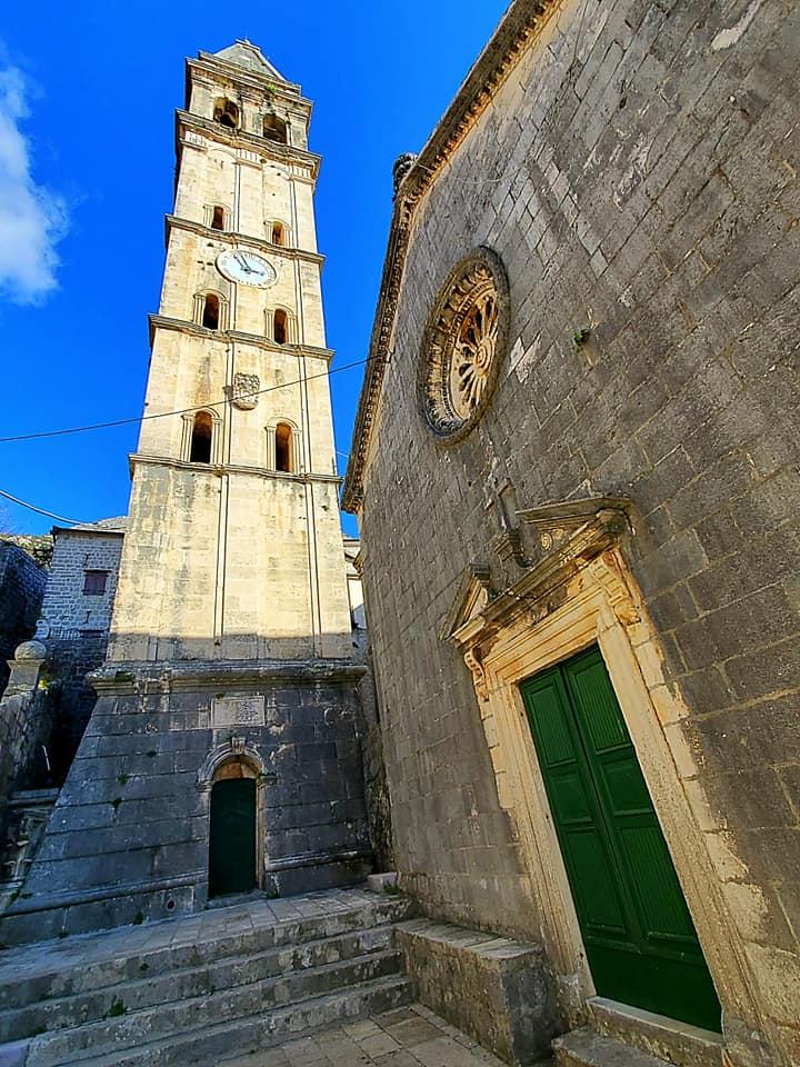 Reaching Towards The Sky - The Church of St. Nikola & Campanile in Perast