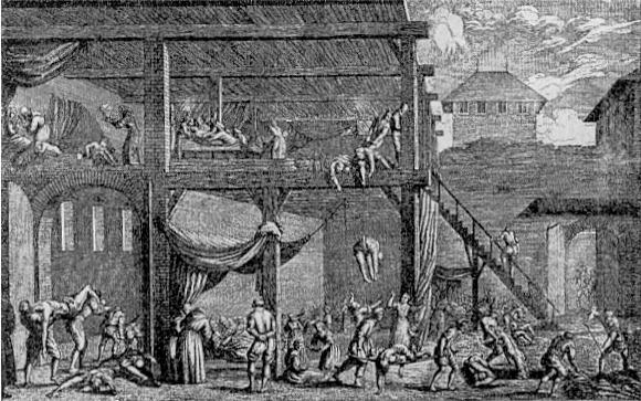 Death in Vienna - Plague Hospital in 1679