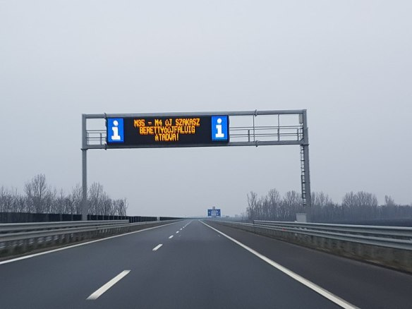 The Final Stretch - M35 Motorway in Hungary