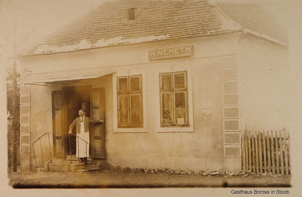 Welcome to the New World - Burgenland Guest House in 1930