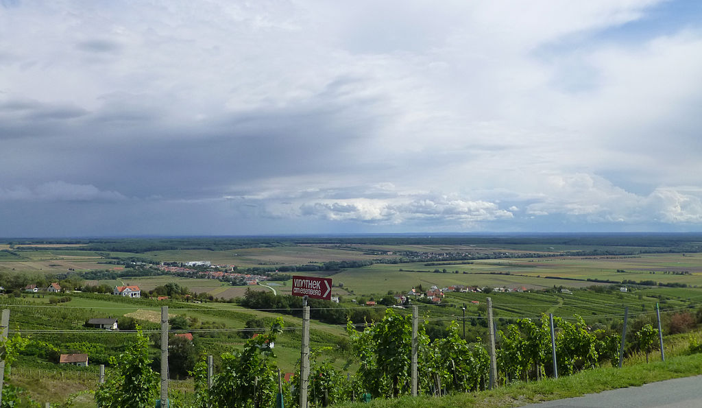 Fertile Fields - Looking east towards Hungary from the Burgenland