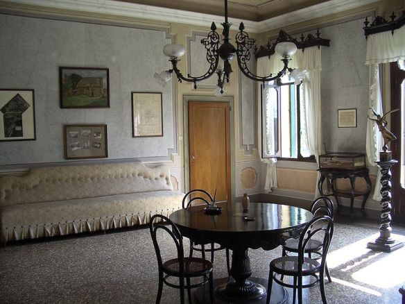 An Empty Room - Site where the Armistice of Villa Giusti was signed
