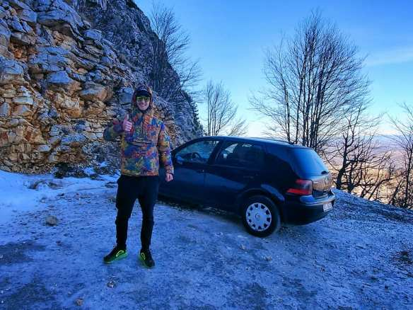 Luka on Ice - The Road to Mt. Lovcen