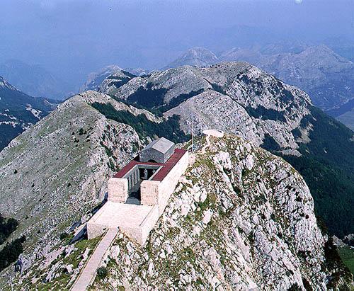 Mountain Mausoleum - Tomb of Petar II Petrović-Njegoš on Mt. Lovcen