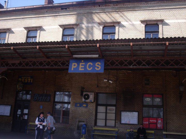 The First Time - Arrival by railway in Pecs