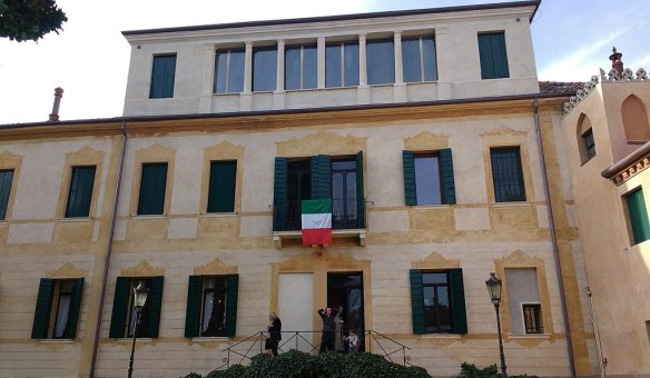 Where History Was Made - Villa Giusti as it looks today